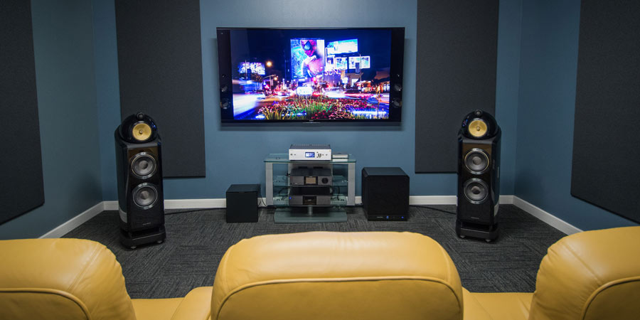 Tempus Experience Center Listening Room