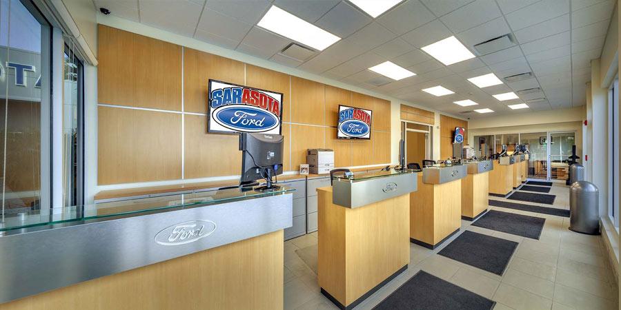 Sarasota Ford Service Department